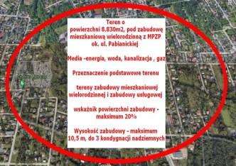 działka na sprzedaż - Łódź, Górna, Ruda Pabianicka