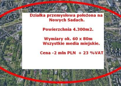 działka na sprzedaż - Łódź, Polesie, Nowe Sady